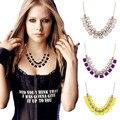 Collares za mulheres 2017 moda maxi colar gros collier femme cadeia collar esmalte geométrica colar choker jóia n1050