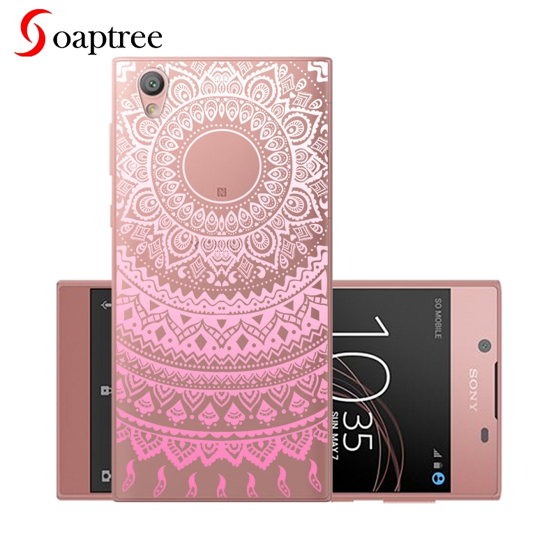 5 5 quot Silicone Phone Case for Sony Xperia L2 Case Soft TPU for Sony L2 Cover Bumper Funda for Sony Xperia L 2 Coque Transparent in Fitted Cases from Cellphones amp Telecommunications