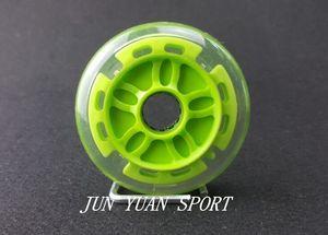 Image 2 - Haute qualité! 8 pièces/lot 90mm LED Flash roue de course de vitesse en ligne pour le brossage de la rue lumière fraîche, livraison gratuite