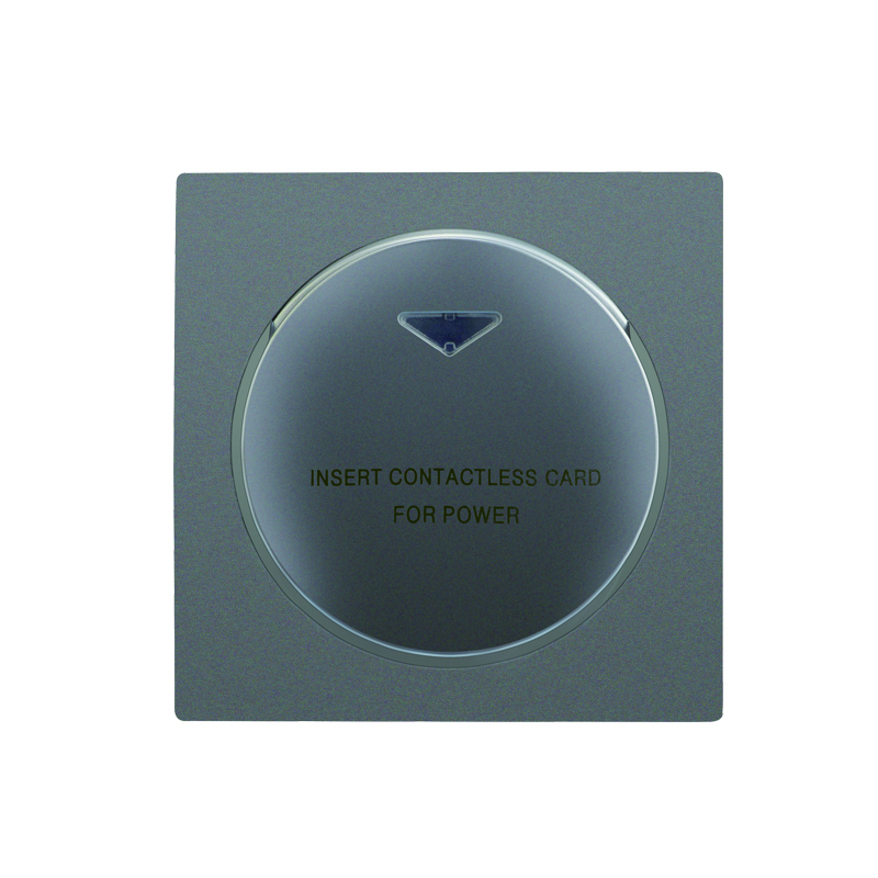 Knowledgeable Silver Round Shape Luxury Hotel Motel Guest Room Rfid 125khz Card Switch Room Number And Time Limit Function Prousb Hotel System Access Control