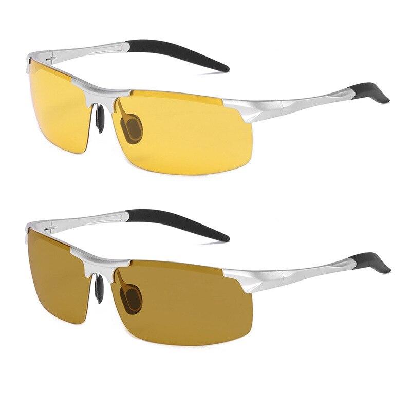 Bello Uomini Polarizzati Occhiali Per La Visione Notturna Occhiali Di Guida Del Driver Occhiali Da Sole Cambiamento Di Colore Hd Occhiali Giallo Per Migliorare La Circolazione Sanguigna