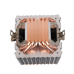 Image 5 - 6 heat pipes RGB CPU Cooler radiator Cooling 3PIN 4PIN 2 Fan For Intel 1150 1155 1156 1366 2011 X79 X99 Motherboard AM2/AM3/AM4