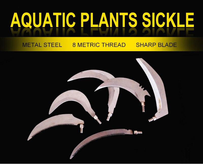 plantas aquáticas cortador erva daninha remoção ferramenta