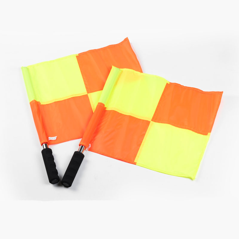 Gojoy Football Referee Flags Fair Play World Cup Flag Sports Match Soccer Linesman Flags Referee Equipment Set Wholesale