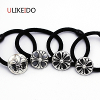 100 Pure 925 Sterling Silver Jewelry Letter Fashion Tire Hair Bands For Women Thai Silver Headbands