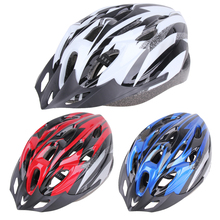 Ultralight Adult Bicycle Helmet Outdoor Cycling MTB Road Bike Helmet For Safty Riding Snap-on Visor Road Mount 18-hole BHU2