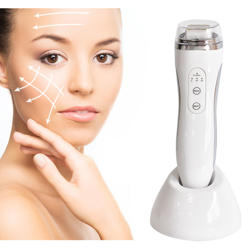 Facial RF Skin Tightening Massager Radio Frequency Device Machine Wrinkle Removal Face Lifting Massage Relaxation Machine rf face massage device led photon wrinkle removing skin tightening lifting radio frequency therapy beauty care machine spa