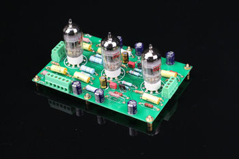 ZEROZONE Assembled 12AX7 E834 RIAA MM Tube phono stage amp board base on EAR834 L5-35