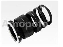 GF3 Amopofo Adaptador Tubo de Extensão Macro Anel Para Micro Quatro Terços M 4/3 M4/3 mount E-PL3 E-PL2 E-PL1 GF1 GF2 GF3 G2 G1