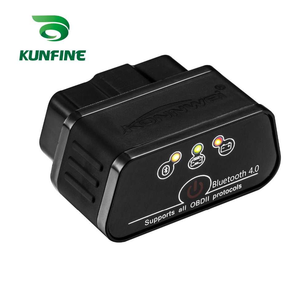 Code Readers & Scan Tools Hospitable Kunfine Kw903 4.0 Bluetooth For Ios System Odb2 Ii Diagnostic Code Scanner Reader Elm327 5 Colors To Choose
