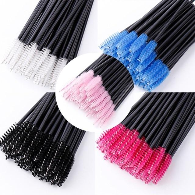 5/10/50PCS Eyelash brushes Makeup brushes Disposable Mascara Wands Applicator Spoolers Eye Lashes Cosmetic Brush Makeup Tools