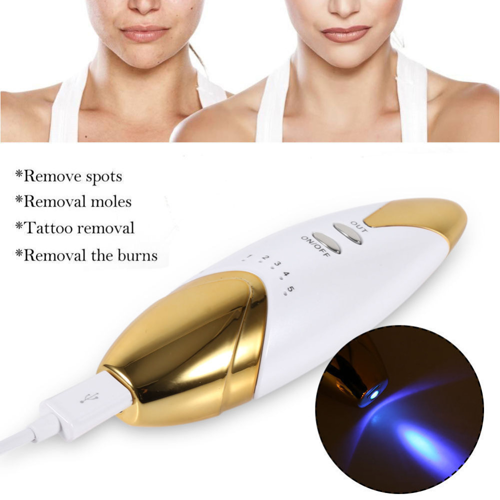 US $90 95 |WiCareYo 5pcs Tattoo Mole Freckle Sweep Spot Birth Mark Skin  Pigmentation Age Removal Pen Wiaceable With Replaceable Needles-in Face  Skin