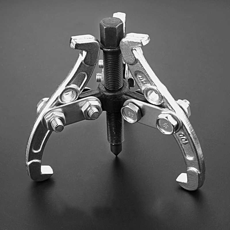 35-75 ミリメートルギア/ハブベアリング 3 顎可逆フライホイールプーリーリムーバーキット 3 顎ギアプラー車の修理ツール自動車アクセサリー