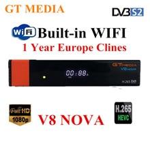 Buy GTMedia V8 Nova Full HD DVB-S2 Satellite Receiver 1 Year Europe Cccam lines Same Freesat V9 Super Upgrade From Freesat V8 Super directly from merchant!
