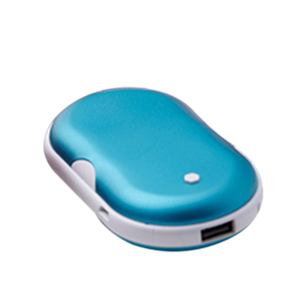 2 In 1 Cute USB Rechargeable Hand Warmer And 5200ma Power Bank Mini Portable Travel Handy Long-Life Pocket Hand Warmer