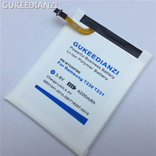 GUKEEDIANZI EB-BT230FBE 4200mAh Tablet Replacement Battery For Samsung GALAXY Tab 4 Nook SM T230 T231 Lithium Polymer Batteries(China)