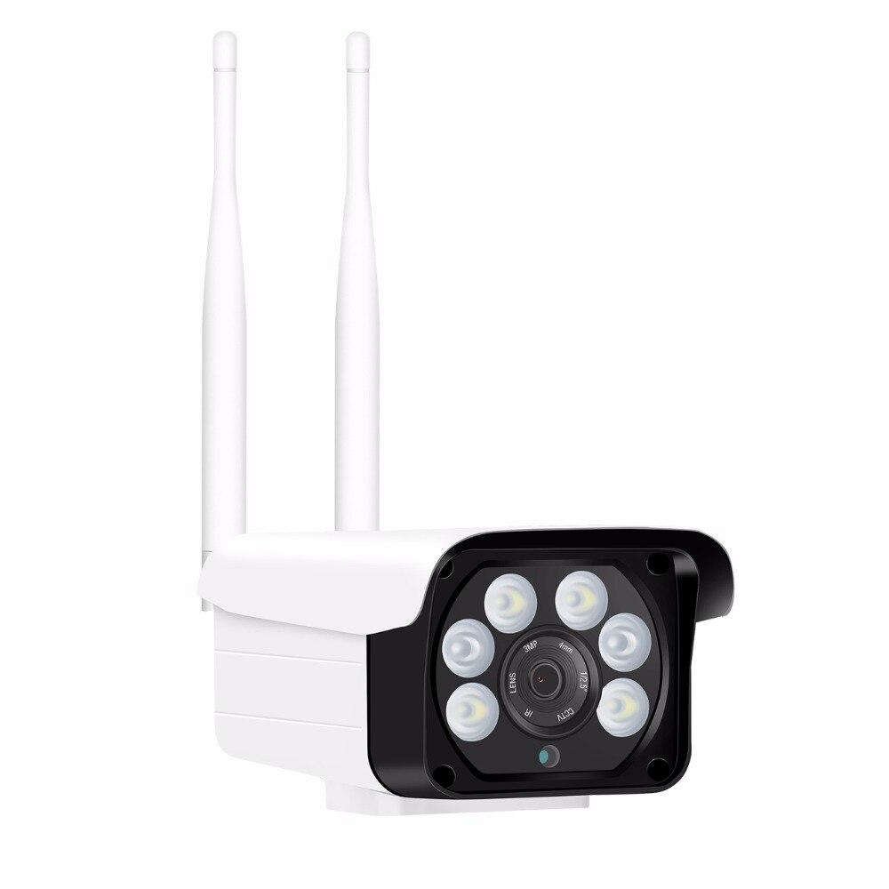 BESDER Dual Light Source 1080P Outdoor Wifi Security IP Camera With Dual Light Type IR LED
