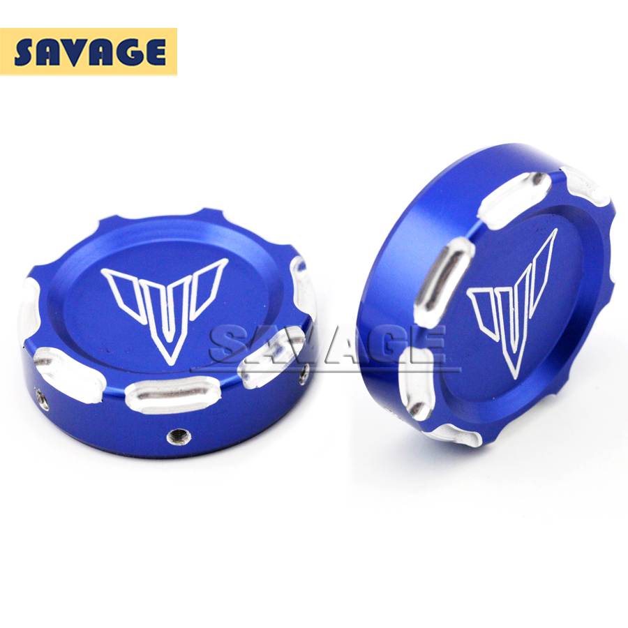 Подробнее о For YAMAHA MT-07 FZ-07 MT07 FZ07 2014 2015 2016 Blue Motorcycle Accessories CNC Aluminum Front Fork Decorative Cover Cap motorcycle cnc billet aluminum front fork cover caps for yamaha mt07 fz07 mt 07 fz 07 2014 2015 red free shipping