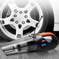 Vehemo Wet/Dry Tire Pressure Car Vacuum Cleaner Air Inflatable Pump Auto Vacuum Cleaner Multi Function Vacuum Cleaner Cleaner