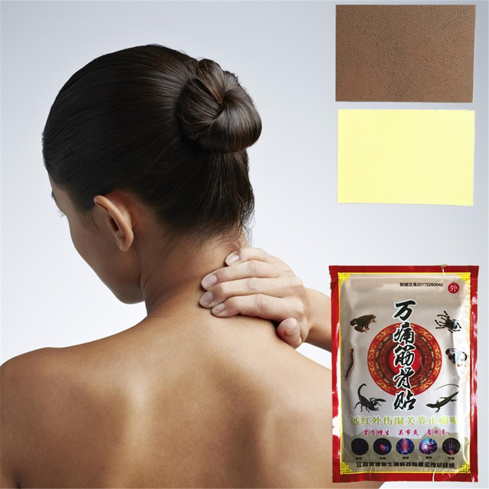 MIYUELENI 8 pcs Chinese Herbal Medicine Joint Pain Ointment Spider venom Essential oil Patches image