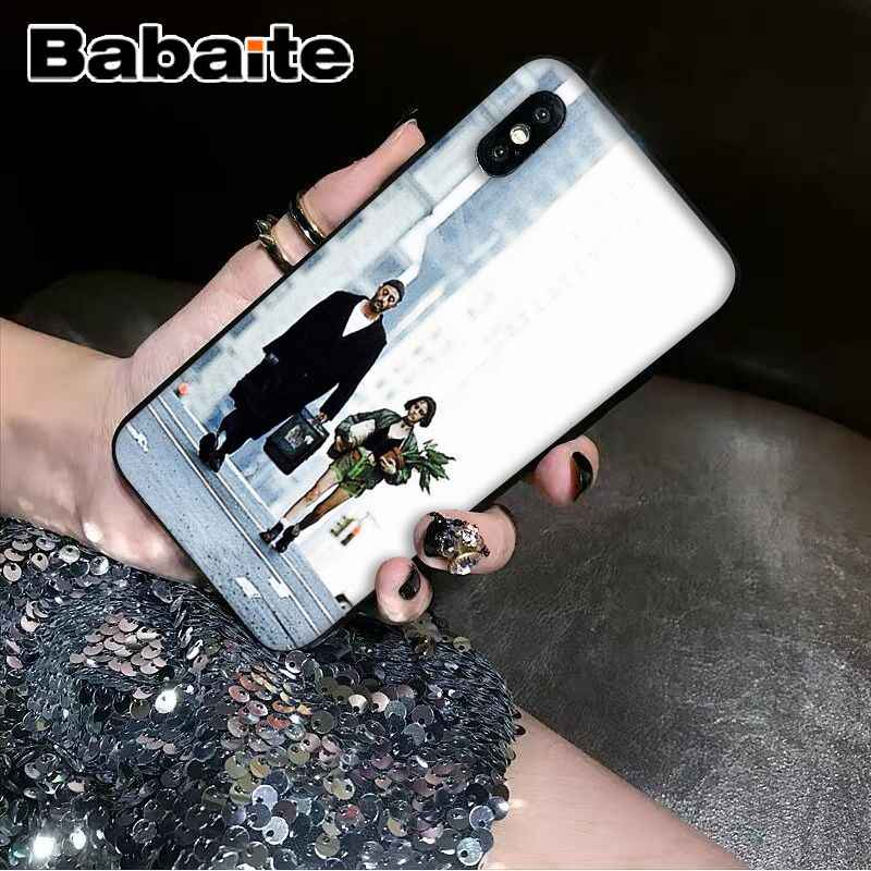 Babaite ليون ماتيلدا ناتالي بورتمان الفيلم المشارك كابا جراب هاتف شل آيفون X XS ماكس 6 6s 7 7plus 8 8Plus 5 5s SE XR