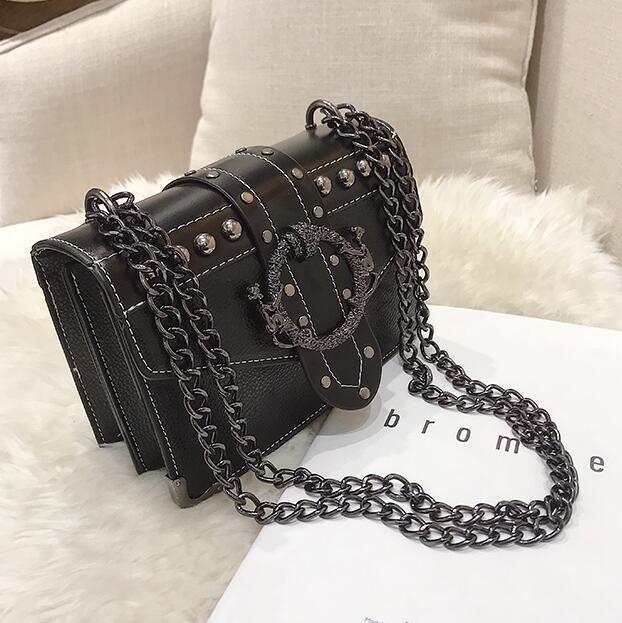 Square Bag PU Leather...