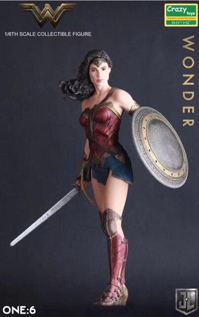 Crazy Toys Figure Batman V Superman Dawn Of Justice Wonder Woman PVC Action Figures Collectible Model