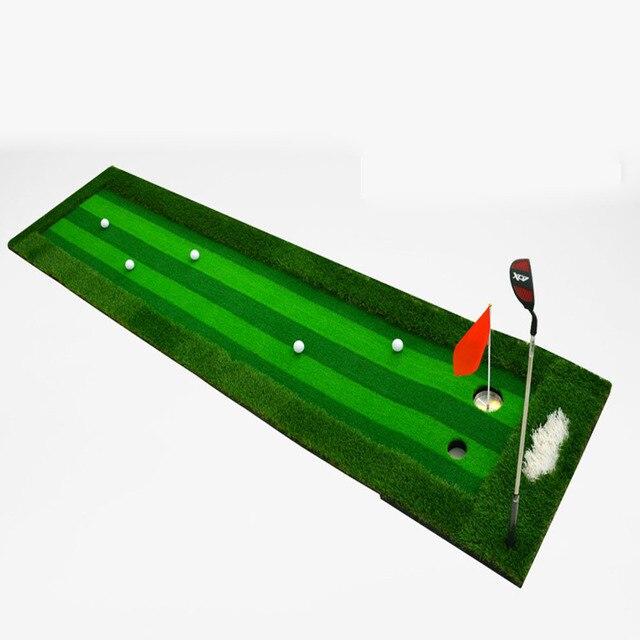 75*300cm Portable Indoor golf green practice carpet/Golf putting ...
