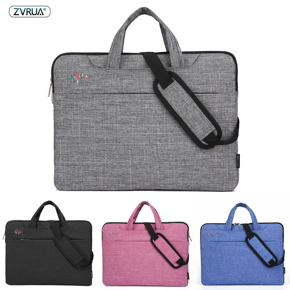 Laptop Bag 13 14 15 inch Waterproof Notebook bags for Macbook Air Pro 13.3 15.4 15.6 Computer Shoulder Handbag Briefcase SleeveLaptop Bag 13 14 15 inch Waterproof Notebook bags for Macbook Air Pro 13.3 15.4 15.6 Computer Shoulder Handbag Briefcase Sleeve