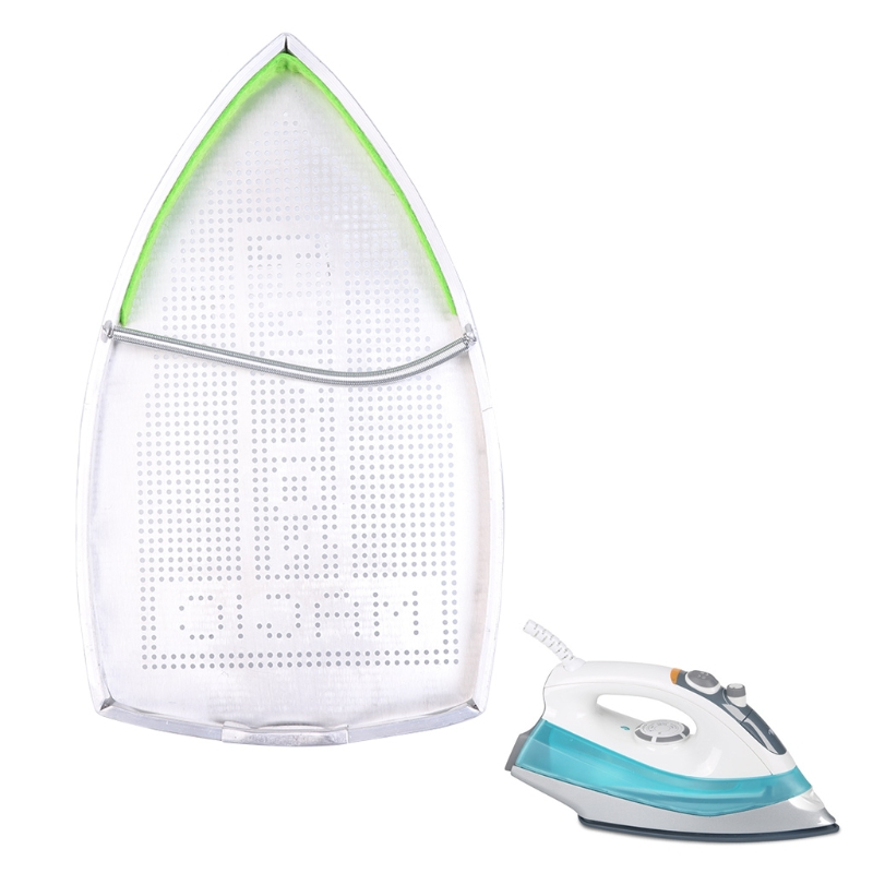 Electric Iron Cover For Teflon Shoe Ironing Aid Board Protect Fabrics Cloth Heat Easy NewElectric Iron Cover For Teflon Shoe Ironing Aid Board Protect Fabrics Cloth Heat Easy New