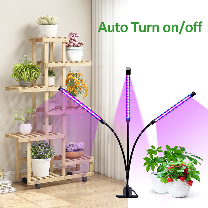 Indoor LED Grow Light Strips For Flowers Full Spectrum Phyto Lamp For Plants USB Lamps Fitolampy For Desk Shelves Plants Herbs