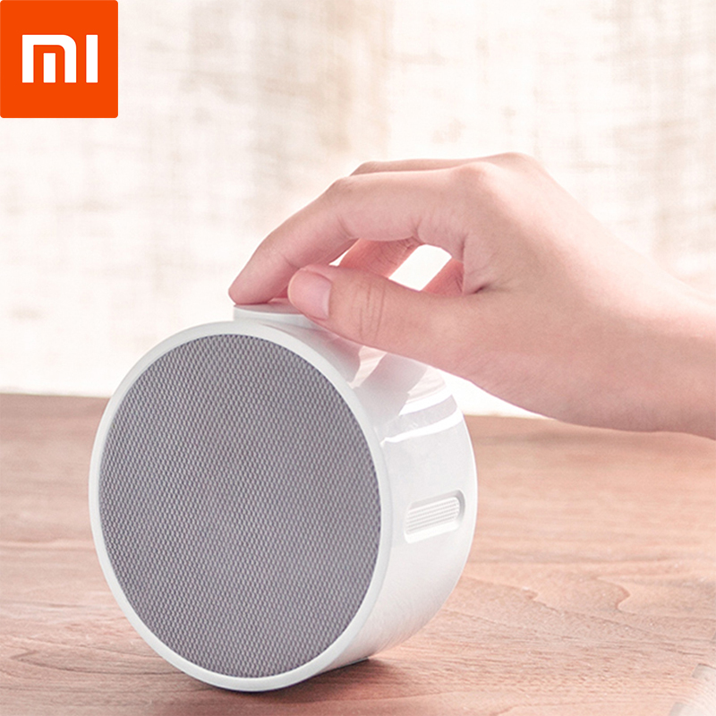 High-tech Xiaomi Music Alarm Clock Mini Bluetooth Speaker Healthy Wireless Loudspeaker BT 4.1 2600mAh Soundbox For IOS Android divoom timebox mini portable bluetooth smart alarm clock speaker with app compatible for ios android xiaomi