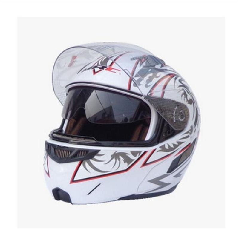 ФОТО Free shipping MRC309 double mirror exposing visor helmet riding a motorcycle safety helmet