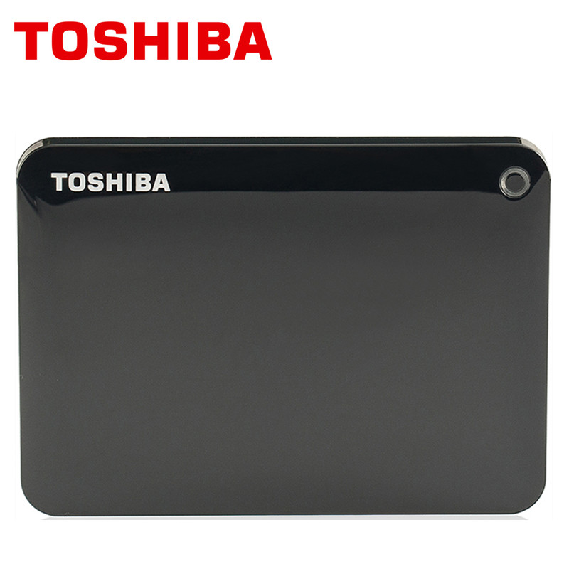 TOSHIBA 1TB External HDD 1000GB Portable Slim Hard Drive Disk USB 3 0 SATA3 2 5