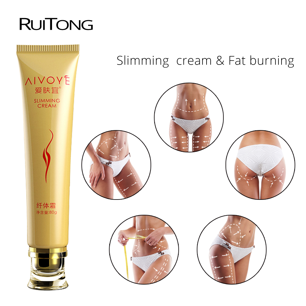 RuiTong 1pcs hot sell fat burning weight loss cream efficacy strong slimming product