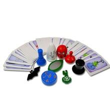 Карточные игры Настольные игры для Geistesblitz 5vor12 с английскими инструкциями blitz игры 3,0 доступны для детей и взрослых