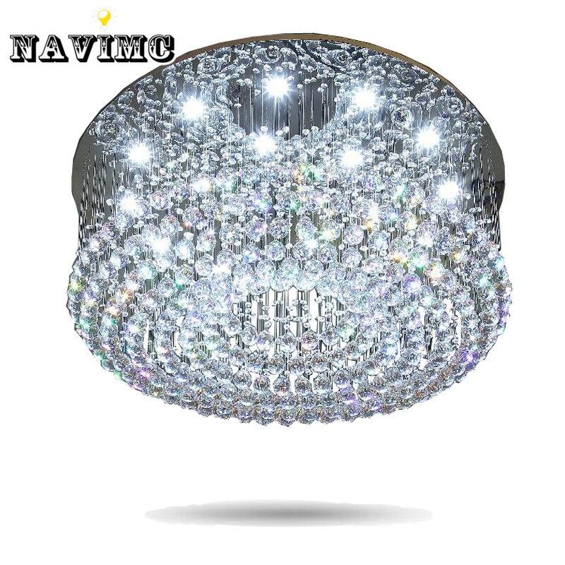 LED Kristall Celling Licht Wohnzimmer Lampe Hotel Projekt Lobby Unterputz Deckenleuchten LeuchtenChina Mainland