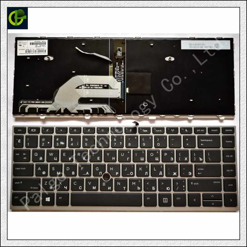 Russian Backlit Keyboard for HP Probook 430 G5 440 G5 445 G5 ZHAN 66 pro g1  L01072-251 DC17A0 X8B RU with frame