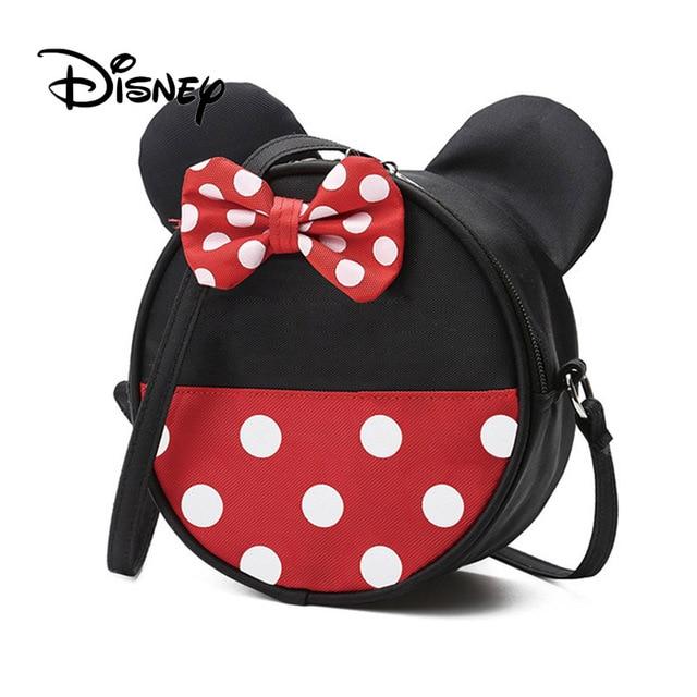 4349d3837b US $13.06 34% OFF|Disney Mickey Mouse Children's Backpack Cartoon Shoulder  Bag Messenger Bags Kindergarten Men and Women Baby Packet Birthday Gift-in  ...