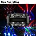 Schnelle lieferung leistungsstarke Disco led dj licht verwenden für party KTV bar led strahl spinne moving head licht show home unterhaltung dance
