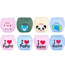 1 Piece Baby Newborn Diapers cover Washable Reusable bebe nappies changing training pant/Baby Diaper/Cotton Learning Pants NB011