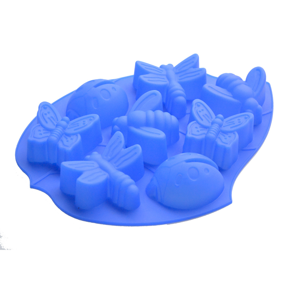Factory Directly Ing Batch 8 Insects Silicone Cake Mold Jelly Pudding Molds Diy Handmade Soap Mould