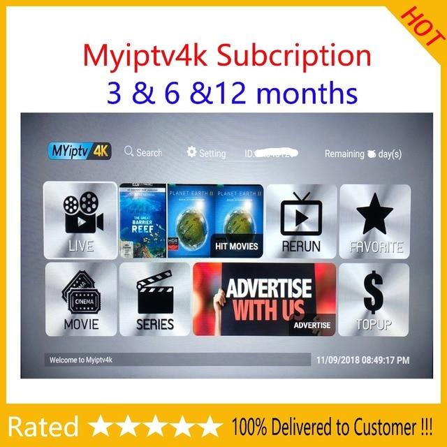 US $29 8 |Myiptv Myiptv4k Mypadtv Haohd iptv subsciption Android tv box  Watch Malaysia Singapore Thailand Indonesia Channels HK TVB etc-in Set-top