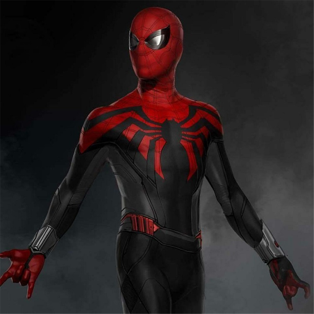 Iron Spiderman Homecoming Cosplay Costume Zentai Iron Spider Man hero Bodysuit Suit Jumpsuits Halloween Christmas costume