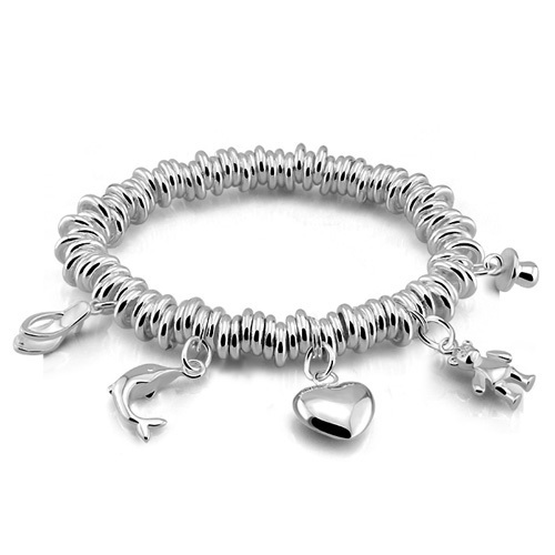 brede zilveren armbanden dames
