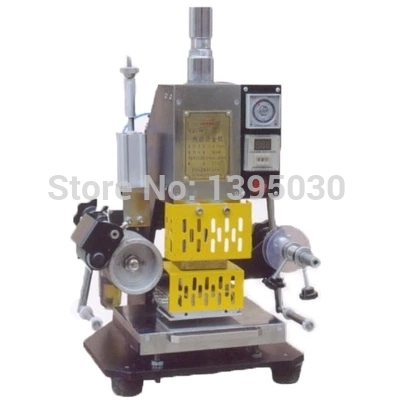 1 Set Pneumatic hot foil stamping foil stamper printer leather debossing machine 110*80mm 110V/220V