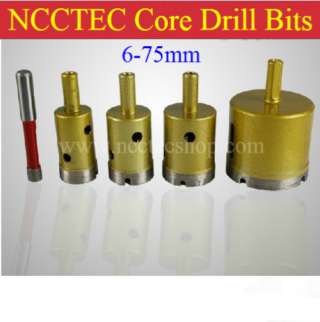 65mm Luxury marble Diamond Core Drill Bits FREE shipping | 2.6'' Ceramic tile concrete brick wall core bits