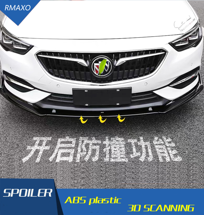 For Opel Insignia Body kit spoiler 2016-2018 For  Insignia ABS Rear lip rear spoiler front Bumper Diffuser Bumpers Protector