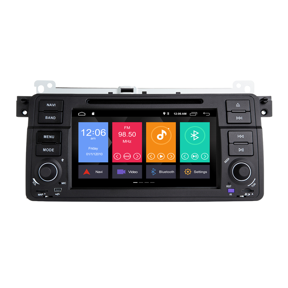 Xonrich AutoRadio 1 Din Android 9 0 font b Car b font DVD Player For BMW