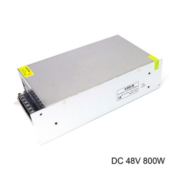 DC 48V Switching Power Supply AC 170-250V 220V Input DC 48V 800W 16.7A Ouput Universal Led Driver Power supply